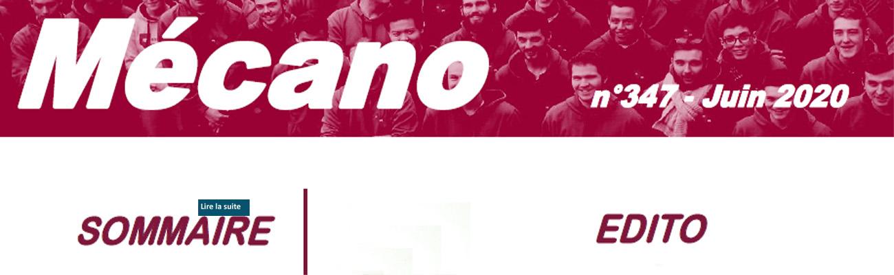 MECANO du mois de juin 2020