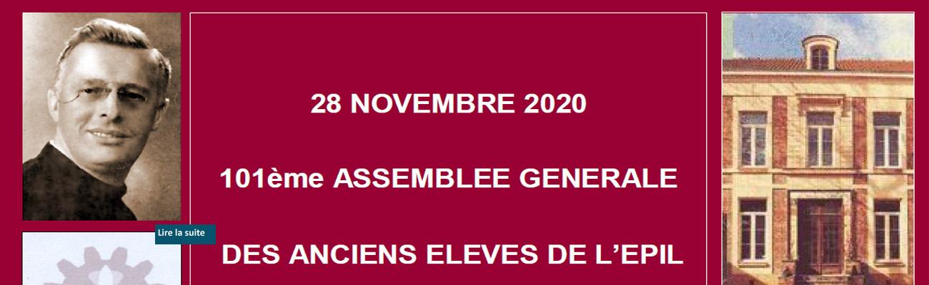 Assemblée générale du 28 novembre 2020