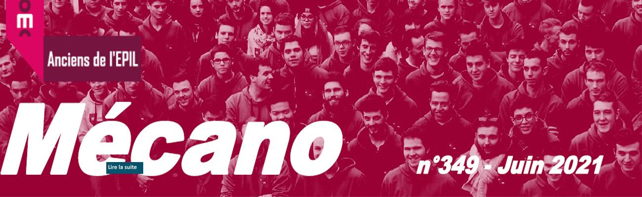Le 349ème numéro de notre bulletin MECANO est arrivé !